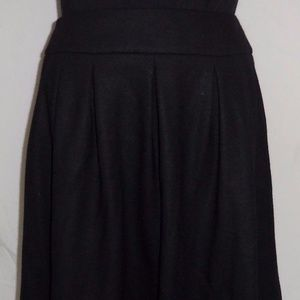 TALBOTS Collection Petites Pleated w/Pockets Skirt